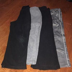 Boys Athletic and Fleece Pants
